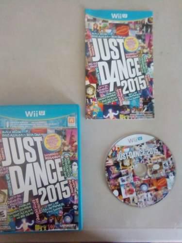 Video Juego Just Dance 2015 Para Nintendo Wii U