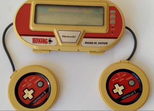 Video Juego Vintage Nintendo Micro Vs. System Boxing