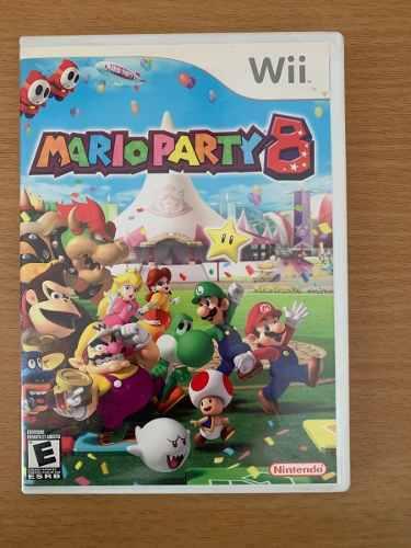 Wii Mario Party 8 Video Juego Nintendo