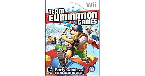 Wii Team Elimination Games Para Wii Original En Buen Estado