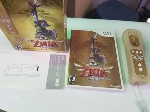 Zelda Skyward Sword Edicion Especial Nintendo Wii