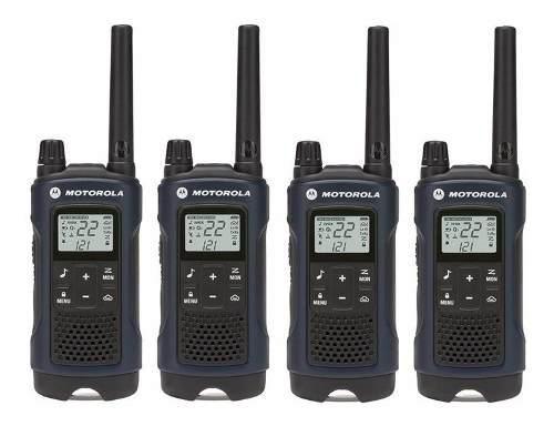 2 Kit Radios Motorola 56km* 35 Mi Puerto Micro Usb T460mc-2