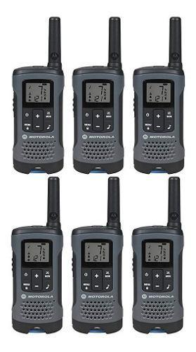 3 Kit Radios Motorola 32km* 20 Mi Puerto Micro Usb T200-3