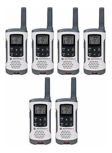 3 Kit Radios Motorola 40km* 25 Mi Puerto Micro Usb T260-3