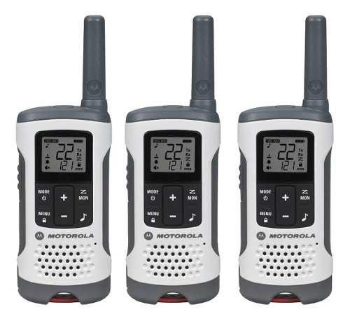 3 Radios Motorola Walkie Talkie 2 Vias Talkabout 40km