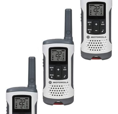 3 Walkie Talkie Motorola Radio 2vias 40km Alcance 29 Horas