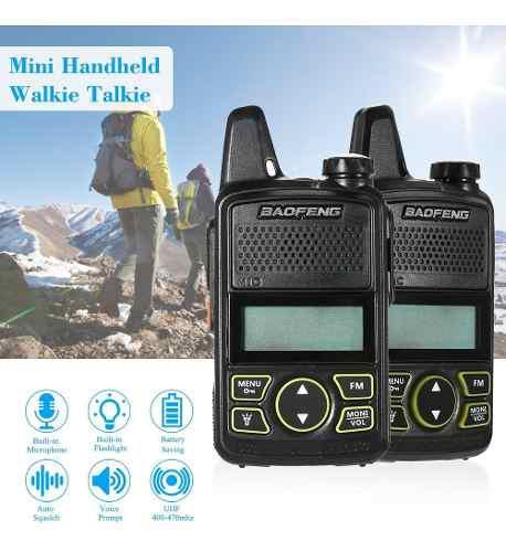 Baofeng Bf-t1 Mini Dos Camino Radio Walkie Película Sonora