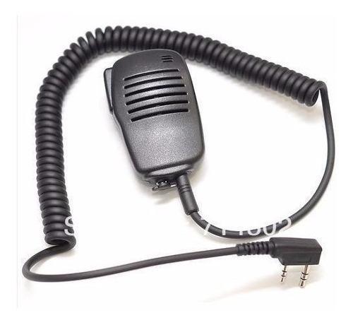 Baofeng Kenwood Microfono Solapa Radios Uvr5 Uv82