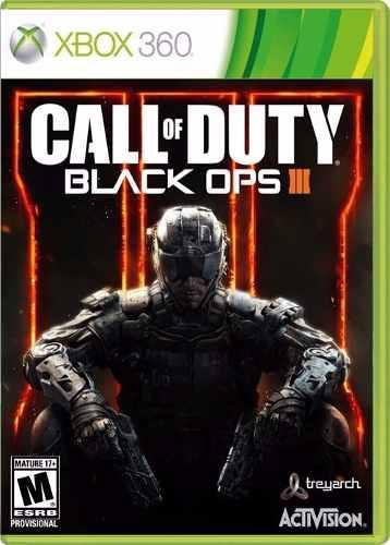 Call Of Duty Black Ops 3 Xbox 360 *** Portada Impresa
