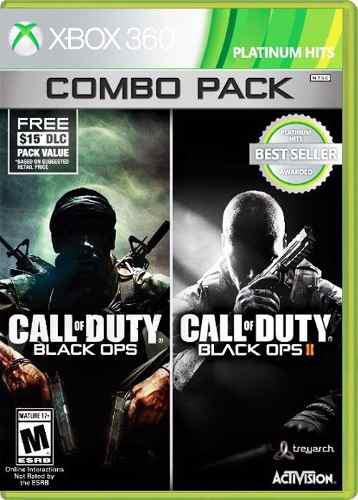 Call Of Duty Black Ops Combo Pack::.. Para Xbox 360