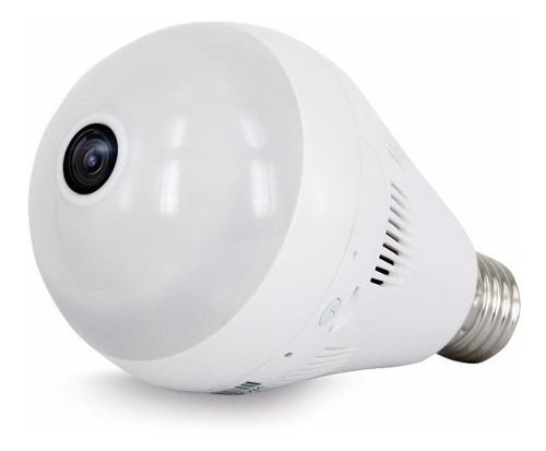Cámara Foco Ip Wifi Espía 360° Hd 960p Luz Real 128gb App