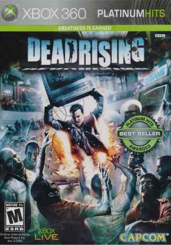 Dead Rising Platinum Hits Xbox 360 Juego Nuevo En Karzov