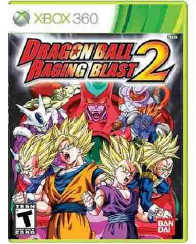 Dragon Ball Raging Blast 2 Xbox 360 Nuevo Y Sellado Juego