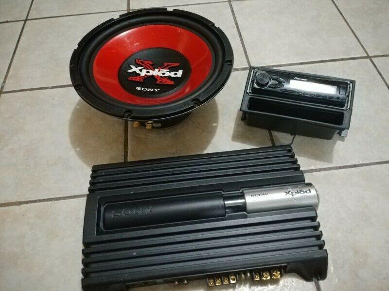 Equipo de sonido para Automóvil