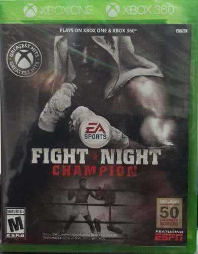 Fight Night Champion::.. Para Xbox 360 Y Xbox One