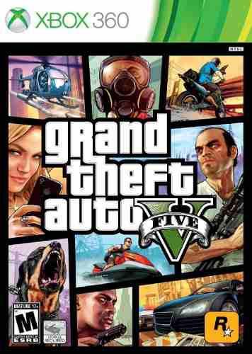Grand Theft Auto V Para Xbox 360 - Envio Gratis - Sellado