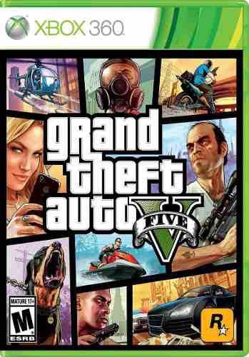Grand Theft Auto V Para Xbox 360. Nuevo Y Sellado.