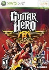 Guitar Hero Aerosmith Usado Para Xbox 360 Blakhelmet C
