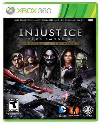 Injustice God Among Us Ultimate Xbox 360 Nuevo Sellado Juego