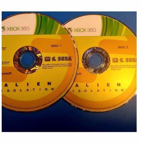 Juego Alien Isolation Usado Para Xbox 360 Blakhelmet C