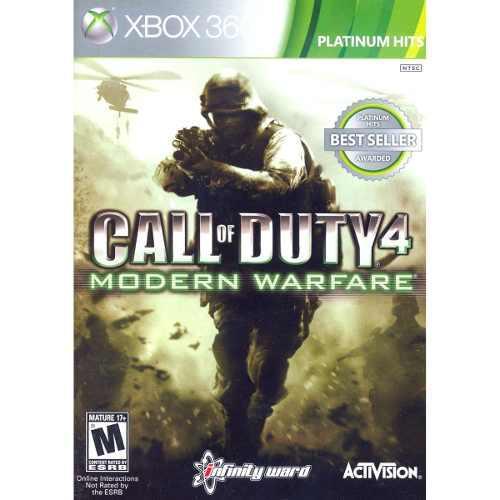 Juego Call Of Duty 4 Modern Warfare Xbox 360 Nuevo Original