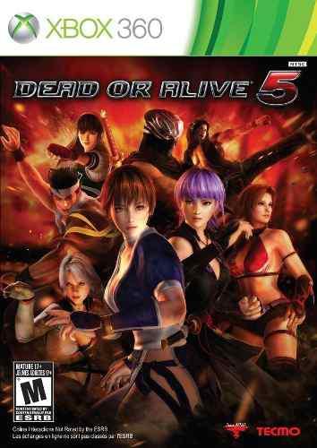 Juego Dead Or Alive 5 Xbox 360 Nuevo Original