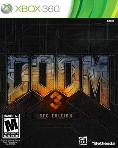 Juego Doom 3 Xbox 360 Nuevo Original