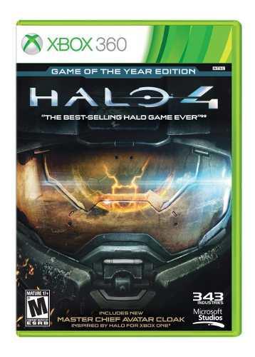 Juego Halo 4 Xbox 360 Nuevo Original