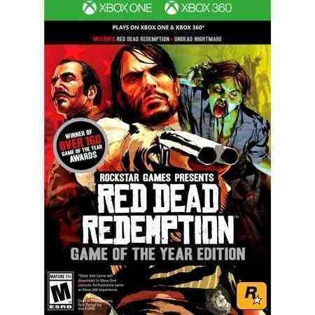 Juego Red Dead Redemption Xbox One, Xbox 360 Nuevo Original
