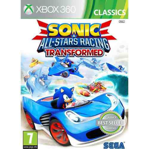 Juego Sonic All-stars Racing Transformed Xbox 360 Nuevo