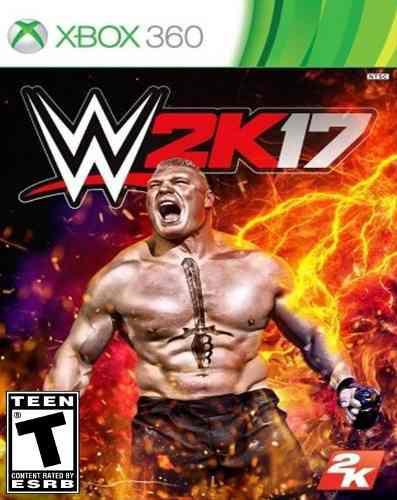 Juego Wwe 2k17 Xbox 360 Nuevo Original