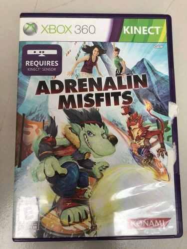 Juego Xbox 360 Adrenalin Misfits