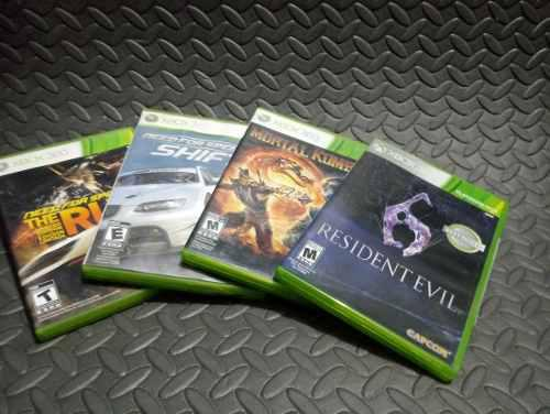 Juegos Para Xbox 360, 4 Por $1,000.00