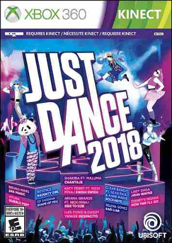 Just Dance 2018 Para Xbox 360 (en D3 Gamers)