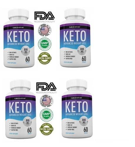 Keto Diet X (4) Advanced Weight Loss Shark Tank Original