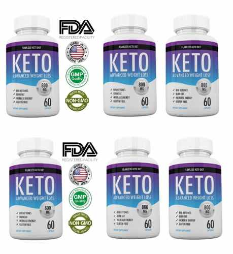 Keto Diet X (6) Advanced Weight Loss Shark Tank Original