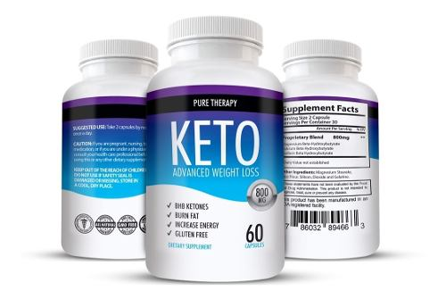 Keto Weight Loss Advanced 1 Frasco Original