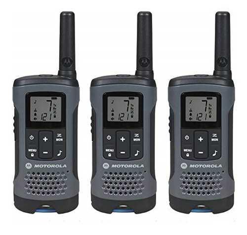 Kit 3 Radios Motorola 32km* 20 Mi Puerto Micro Usb T200tp