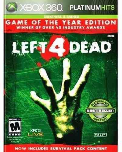 Left 4 Dead Goty Edition Xbox 360 Nuevo Y Sellado Juego