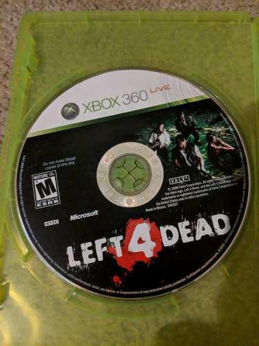 Left 4 Dead Para Xbox 360 Usado Blakhelmet C