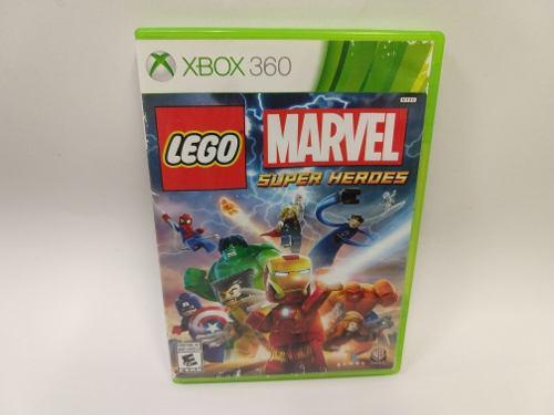 Lego Marvel Super Heroes Xbox 360 Juegazo Portada Maltratada