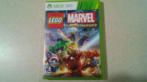 Lego Marvel Super Heroes Xbox 360 Video Juego