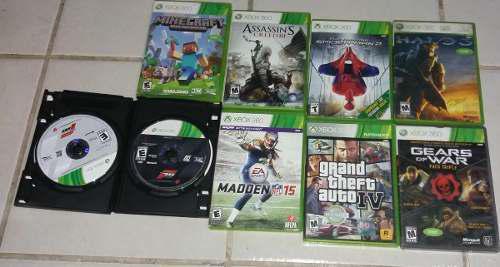 Lote De Juegos De Xbox 360