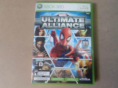 Marvel Ultimate Alliance Forza Son 2 Juegos Para Xbox 360