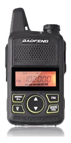 Mini Radio Baofeng Bf-t1 Uhf * Envio Gratis *
