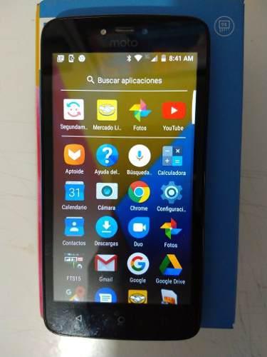 Motorola Celular Moto C Color Negro....