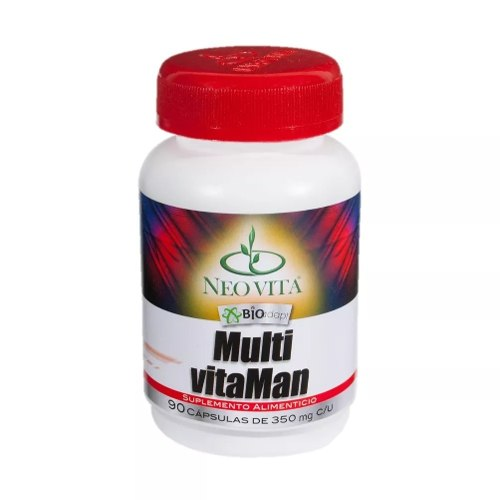 Multi Vitaman Neovita Vitaminas Para Caballero, 2 Frascos