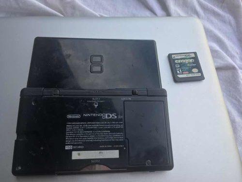 Nintendo Ds Lite Con 1 Cartucho