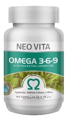 Omega 3,6,9 Neovita 2 Frascos, Nuevo Lanzamiento
