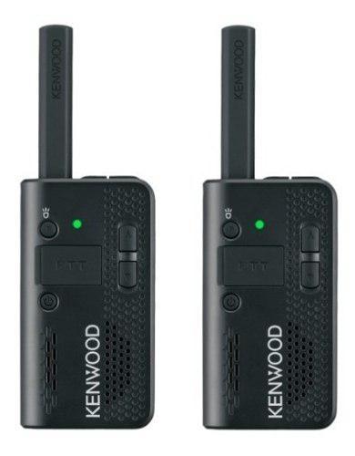 Par De Radios Kenwood Compactos